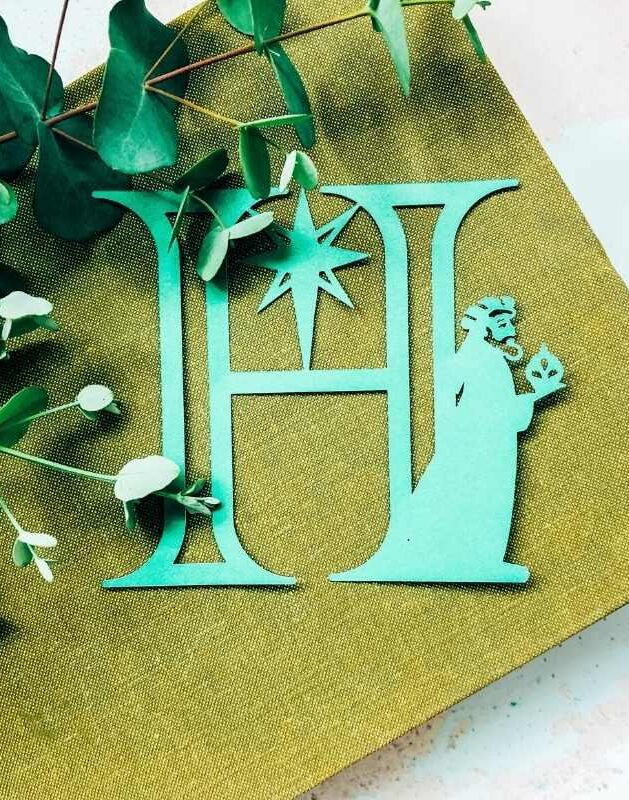 Nativity Alphabet and numbers for Holiday Craft Projects