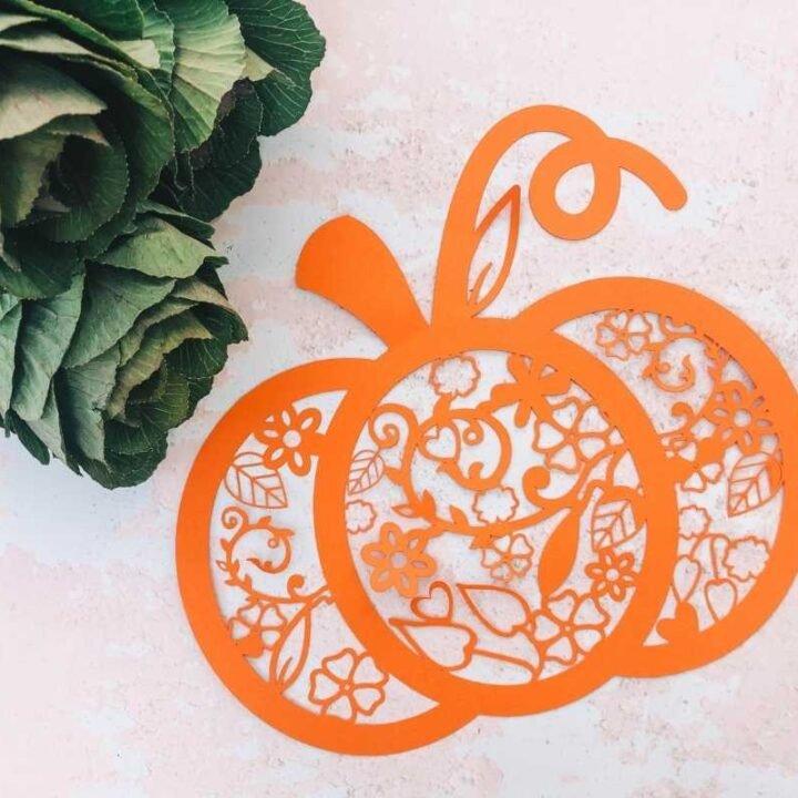 Pumpkin png file template for Halloween
