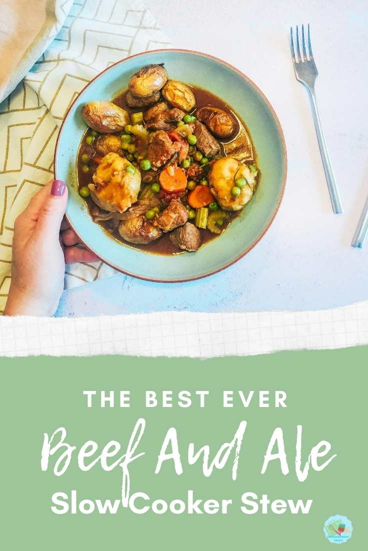 The best ever beef and ale stew recipe for the slow cooker