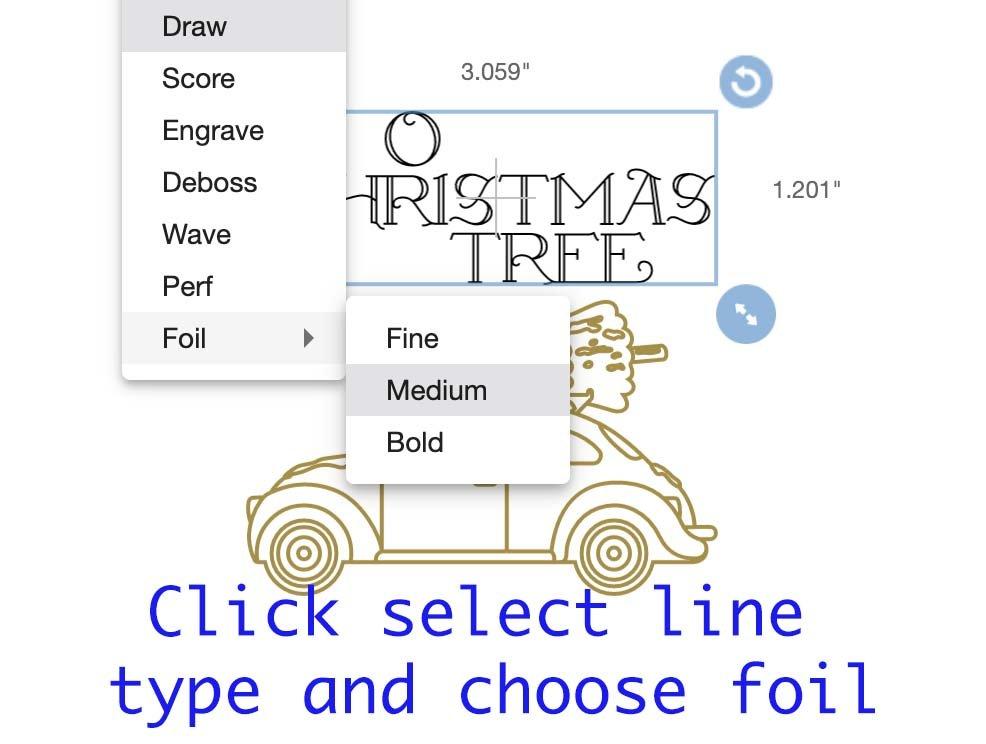 How to use Cricut foil