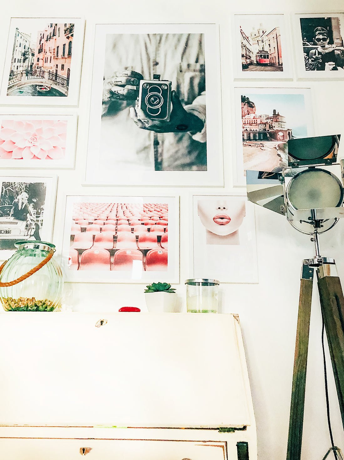 Creating an art wall with prints_