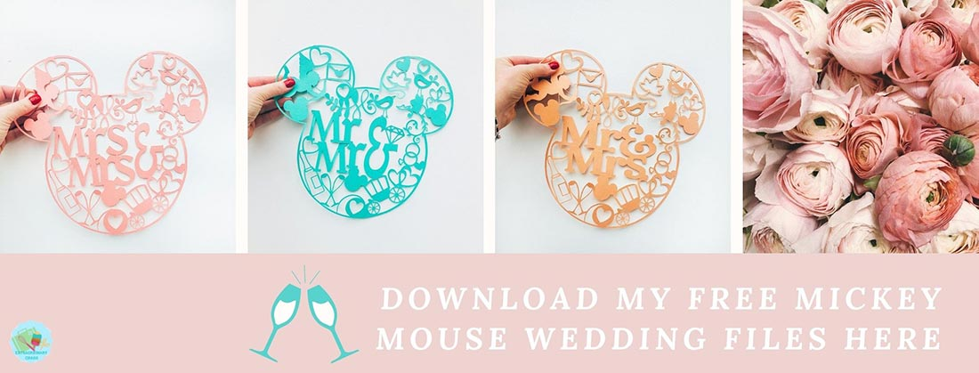 Download my Mickey Mouse Wedding PNG Files Here