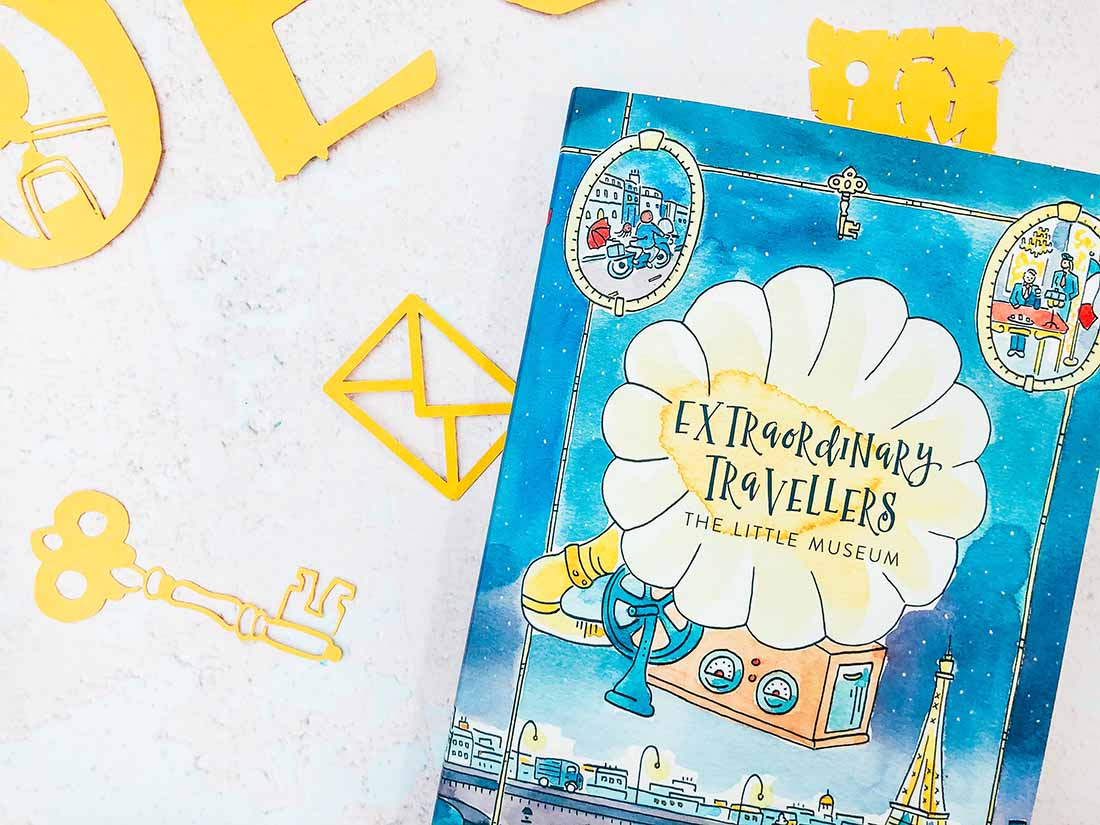 Extraordinary Travellers Alphabet Designed By Sarah Christie