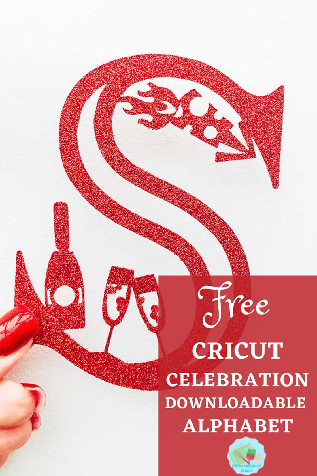 Free Cricut Celebration Alphabet