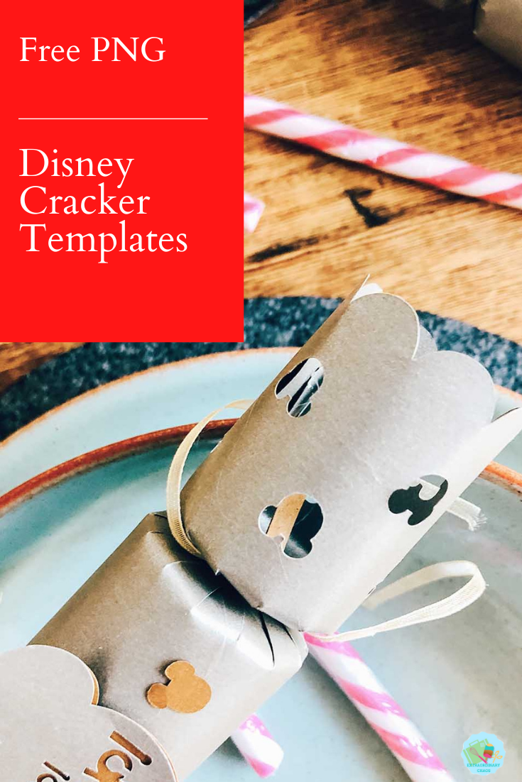 Free Cricut Mickey Mouse Christmas Cracker Template