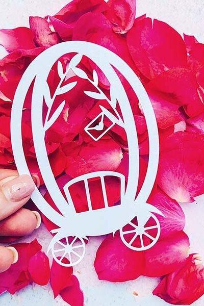 Free Cricut Wedding Alphabet designed by Sarah Christie