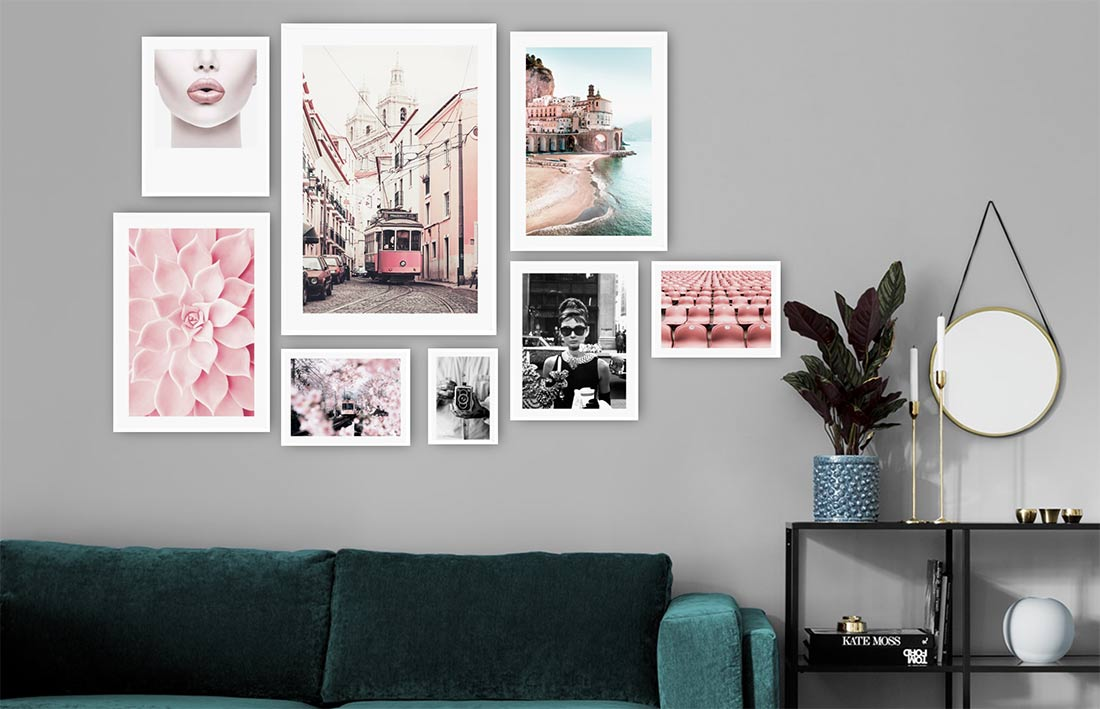 Gallery wall builder and deciding how to arange picture on a photo wall