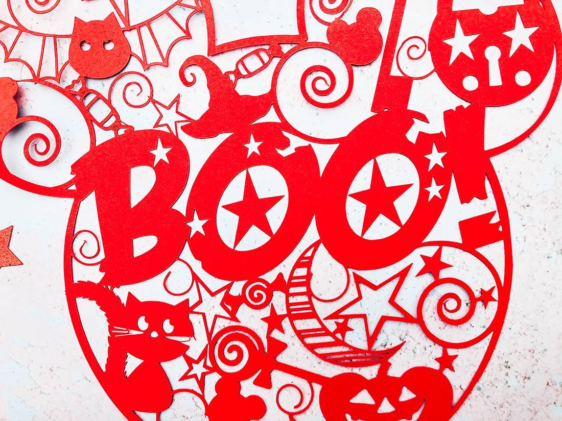 Halloween pop art cut file_