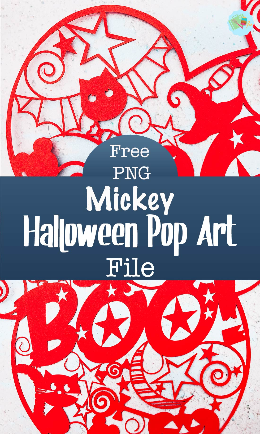 Mickey Mouse Halloween Pop Art File For Paper Or Vinyl