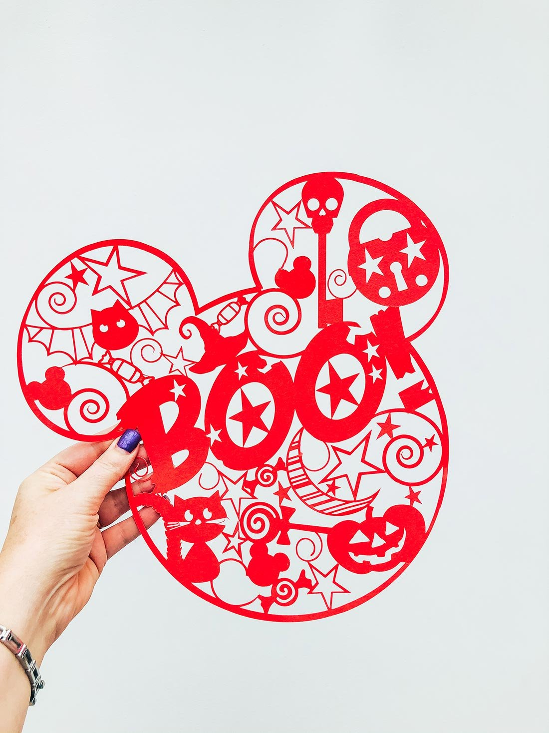 Mickey Mouse Pop Art PNG Halloween File