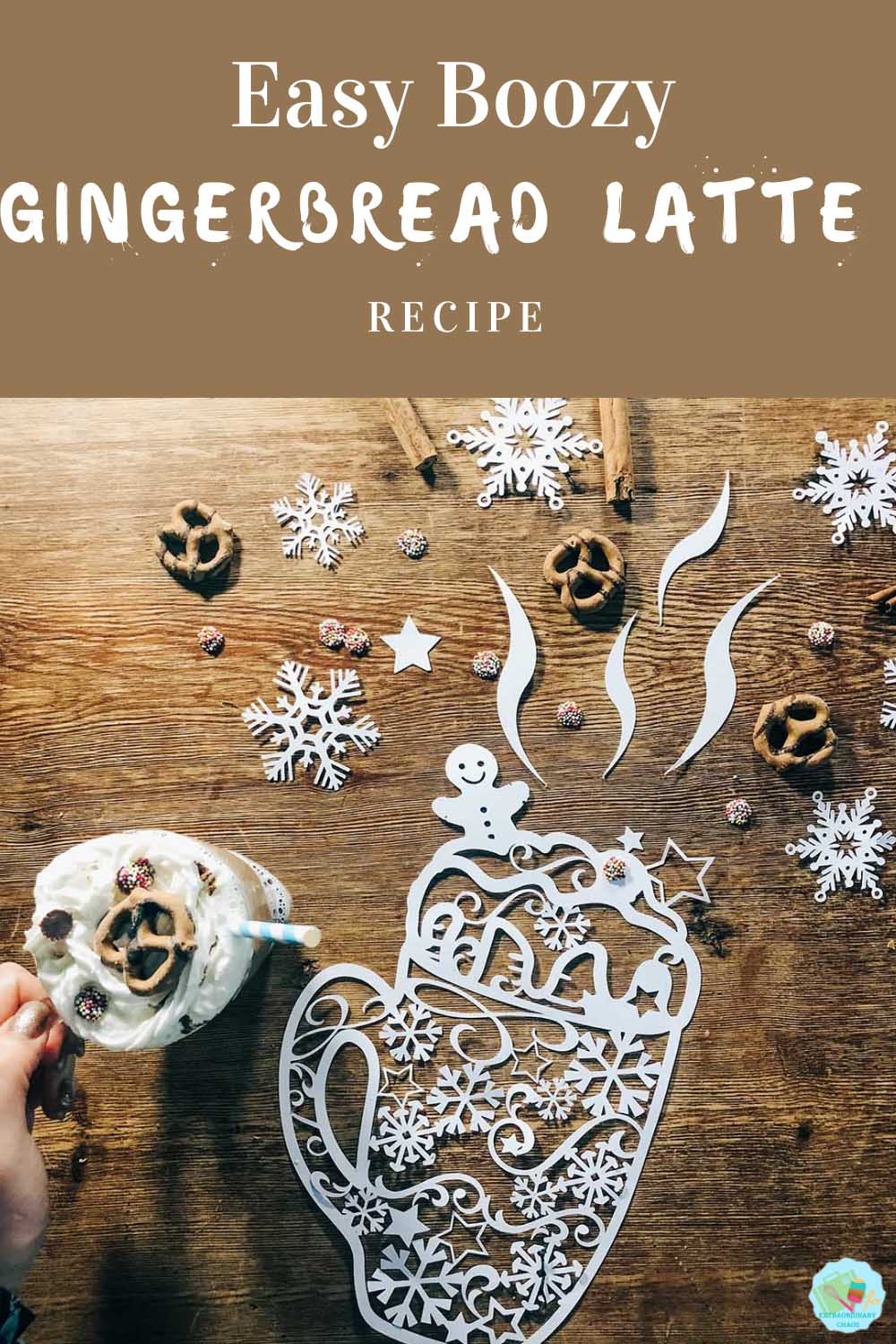 Easy Boozy Home Made Gingerbread Latte Recipe -2