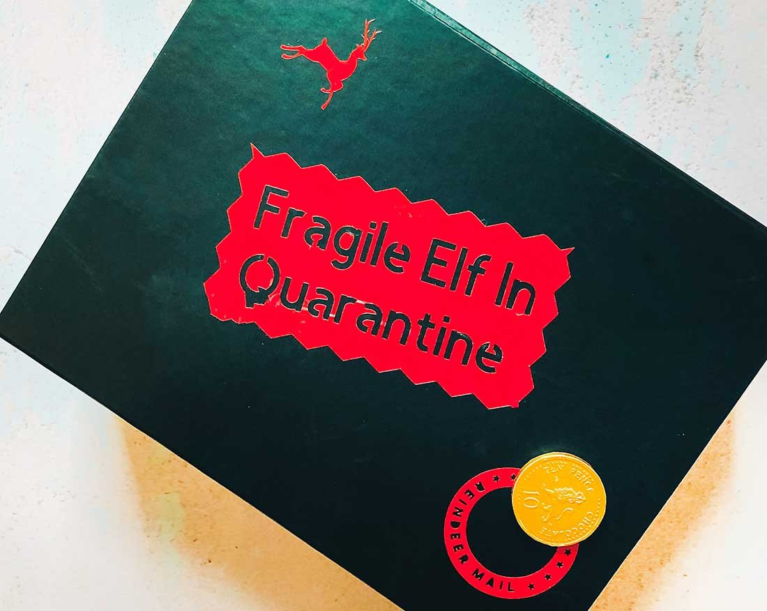 Elf Quarantine stickers