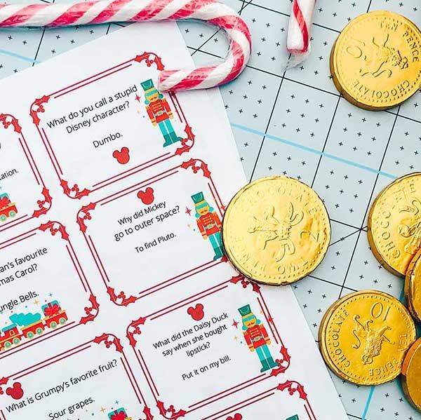 Free Christmas Disney Cracker Jokes