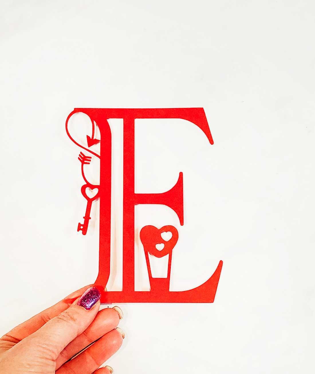 Free downloadable valentines alphabet