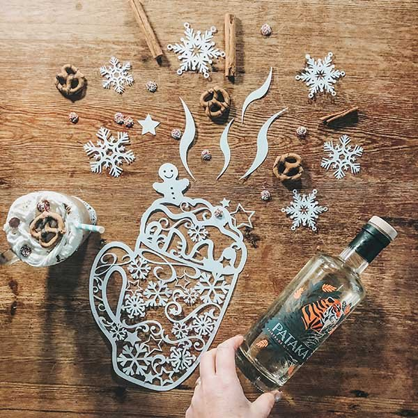 How to make a boozy gingerbread latte at home