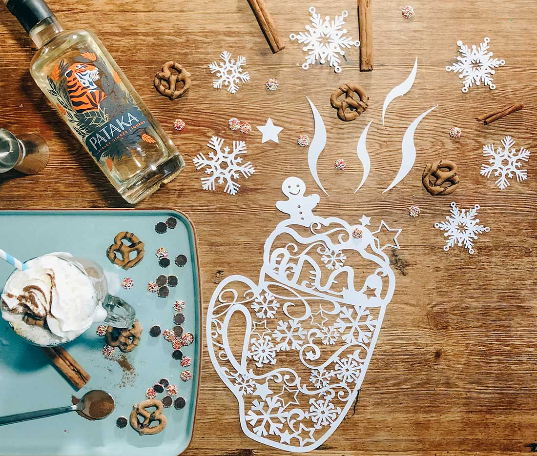 How to make a boozy gingerbread latte
