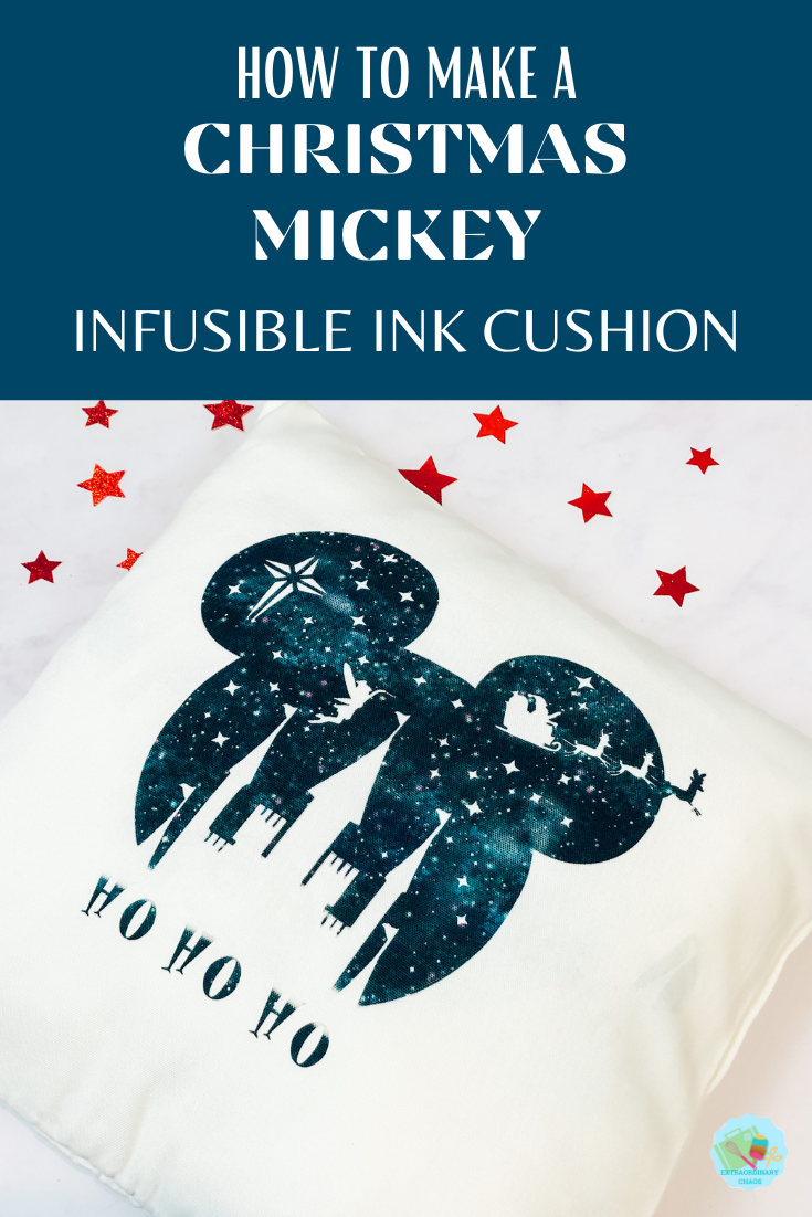 How to make an Infusible Ink Mickey Mouse Cushion