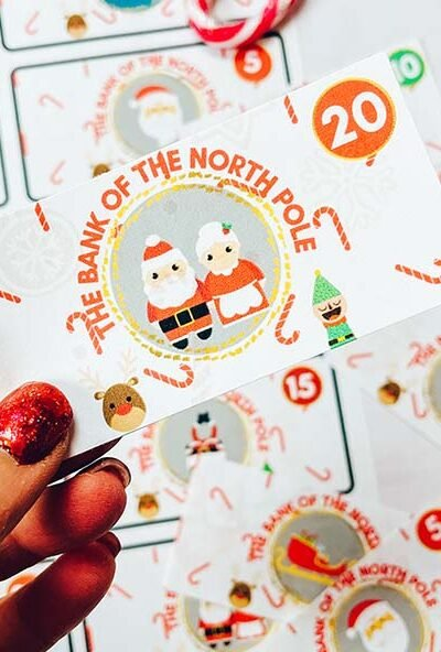 Cover Elf North Pole Currency