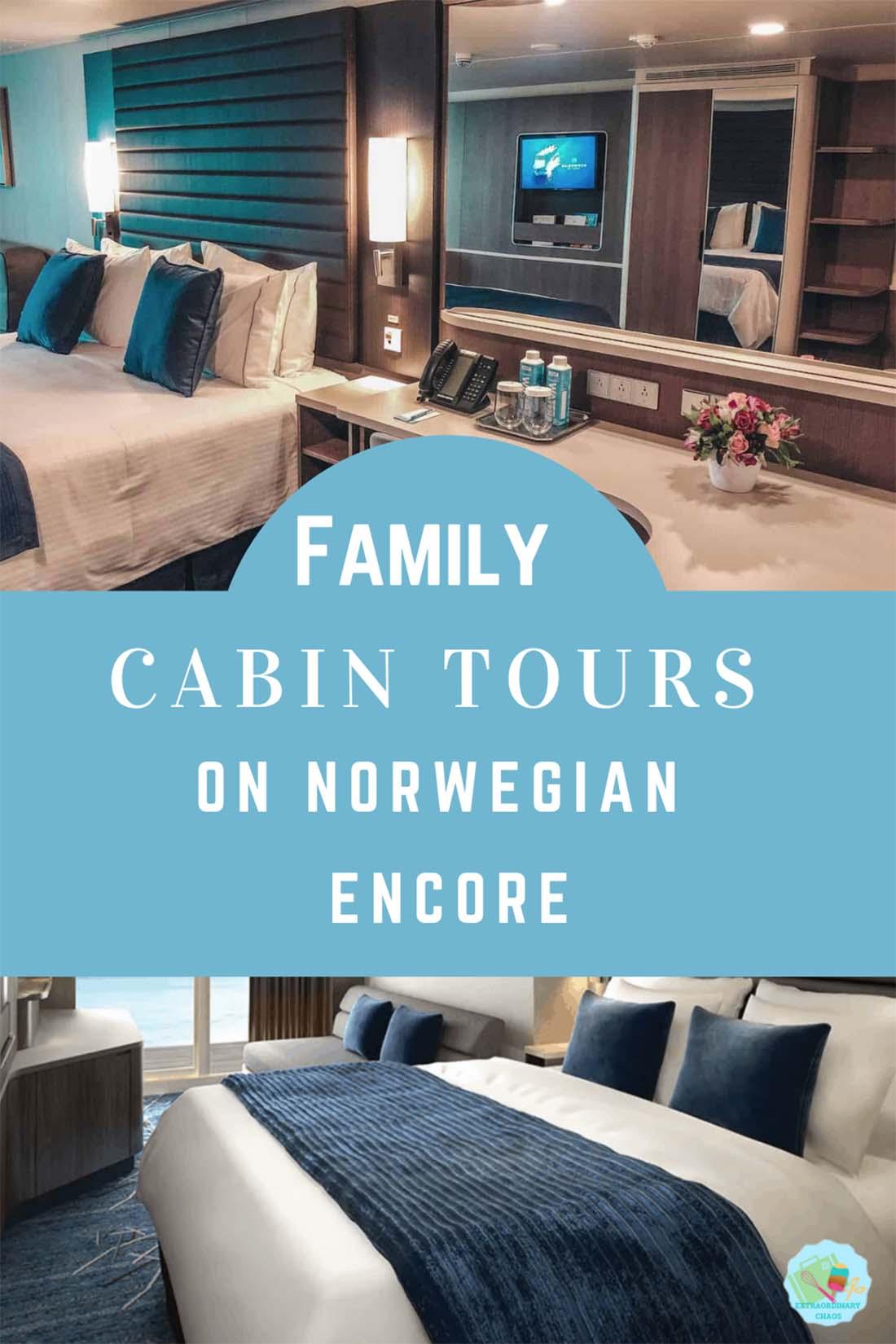 Family Cabin Tours On Norwegian Encore