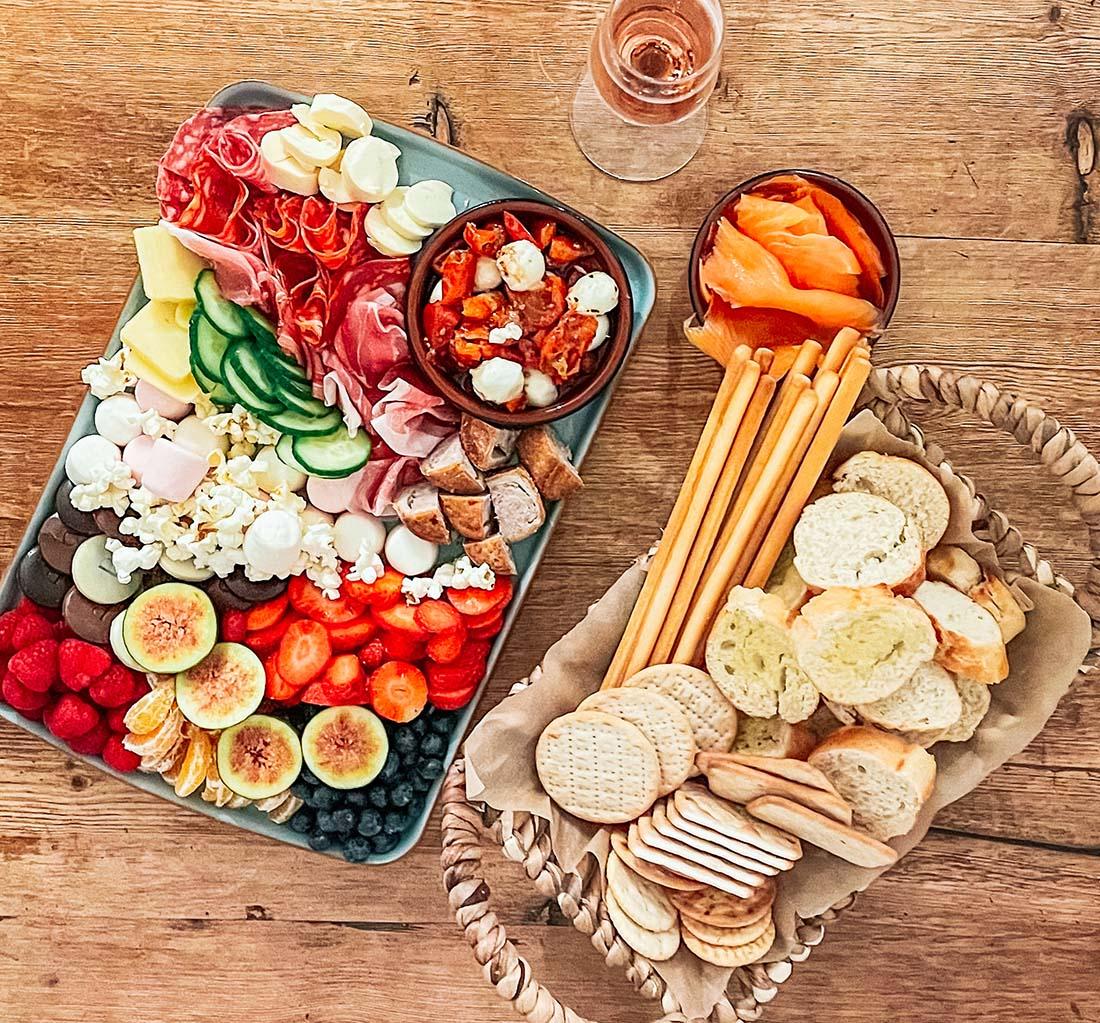Family sharing platter ideas