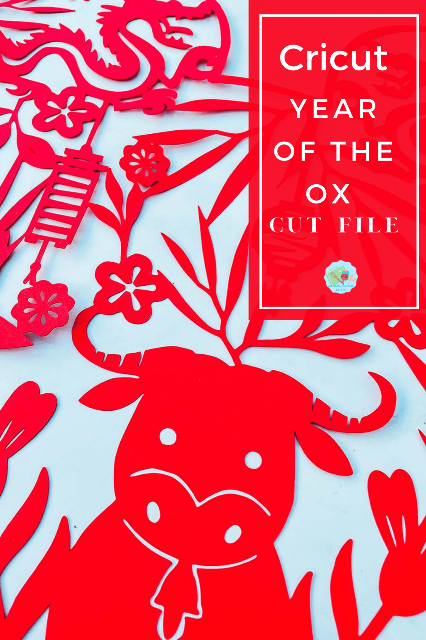 Free Downloadable Mickey Chinese New Year Cut File For Year Of The Ox