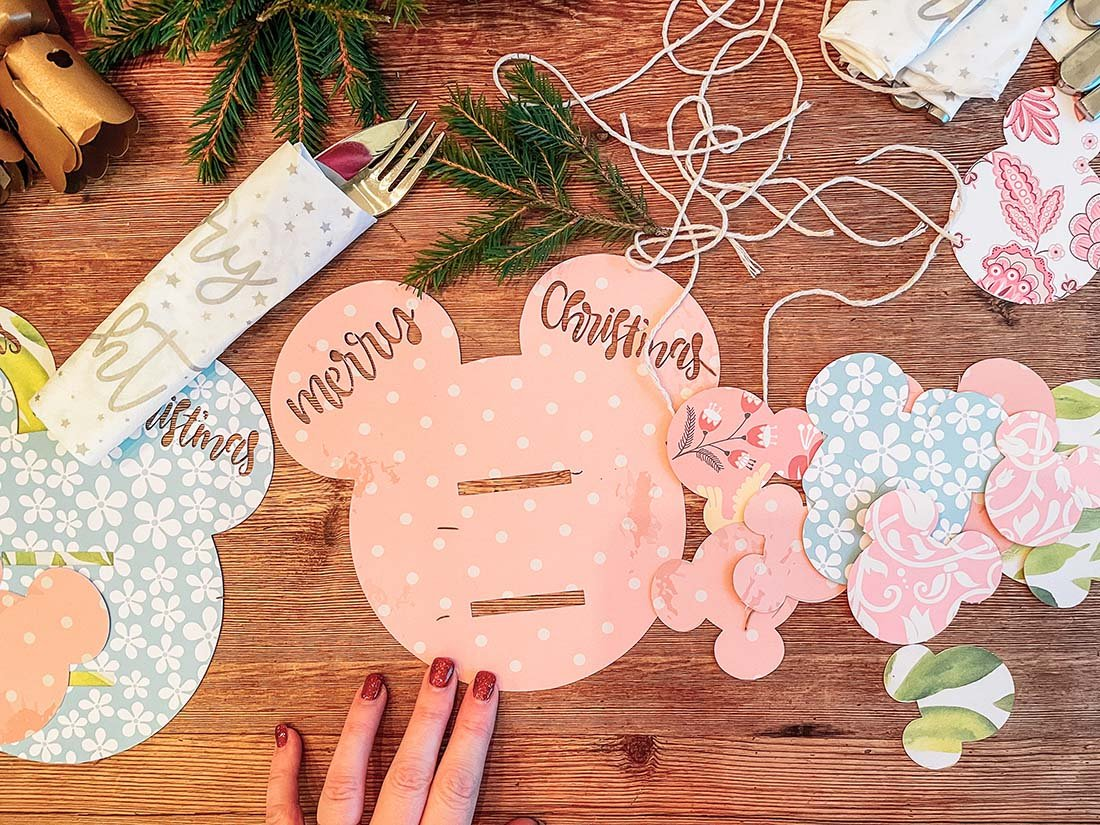 How to make Mickey Cutlery and Napkin Holders