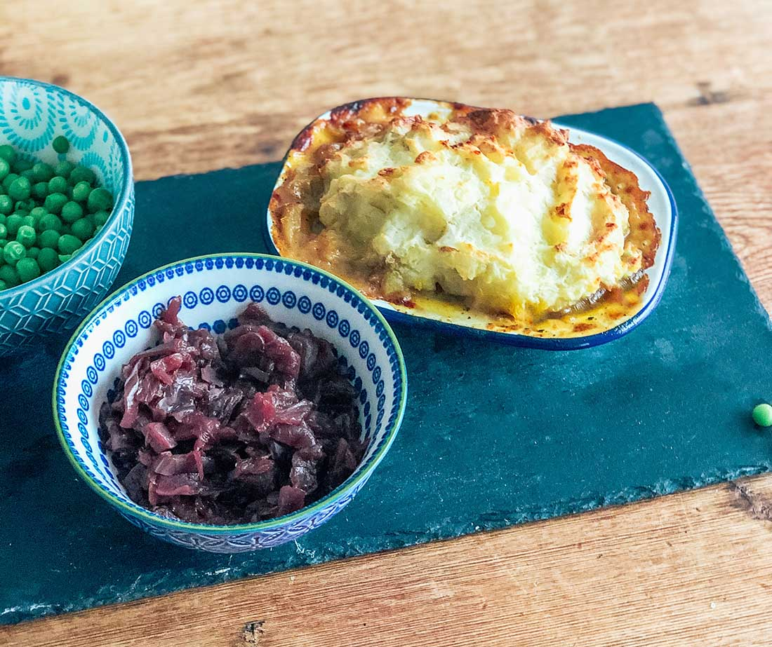 How to make Minted Lamb shepherds pie