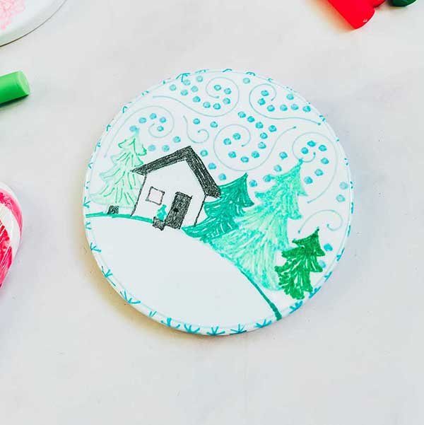 Cover How to create coasters with Infusible ink pens
