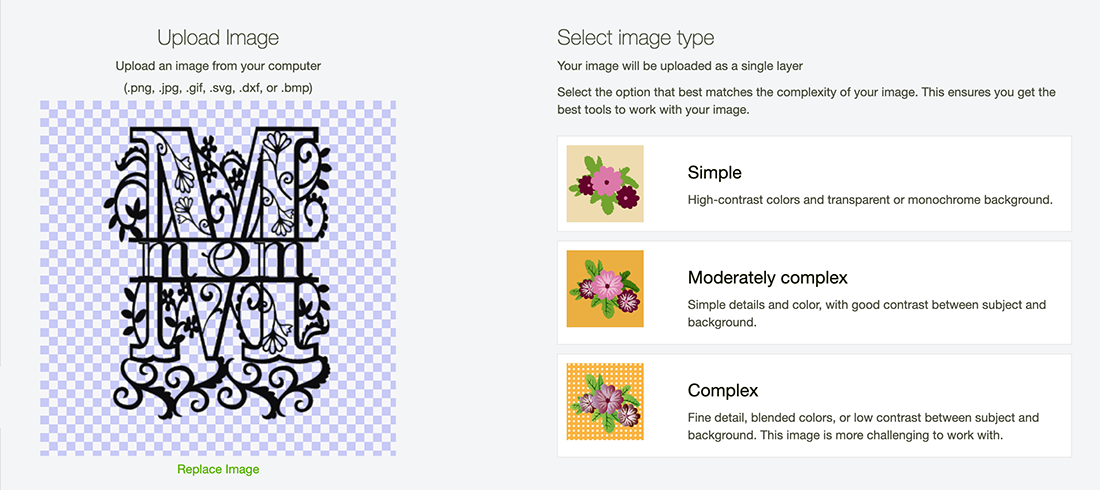 How to upload files to Cricut Design Space