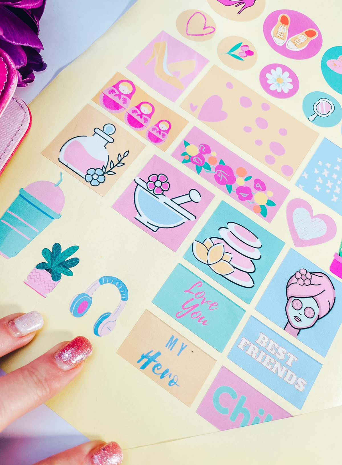Mothers Day Scrapbooking ideas