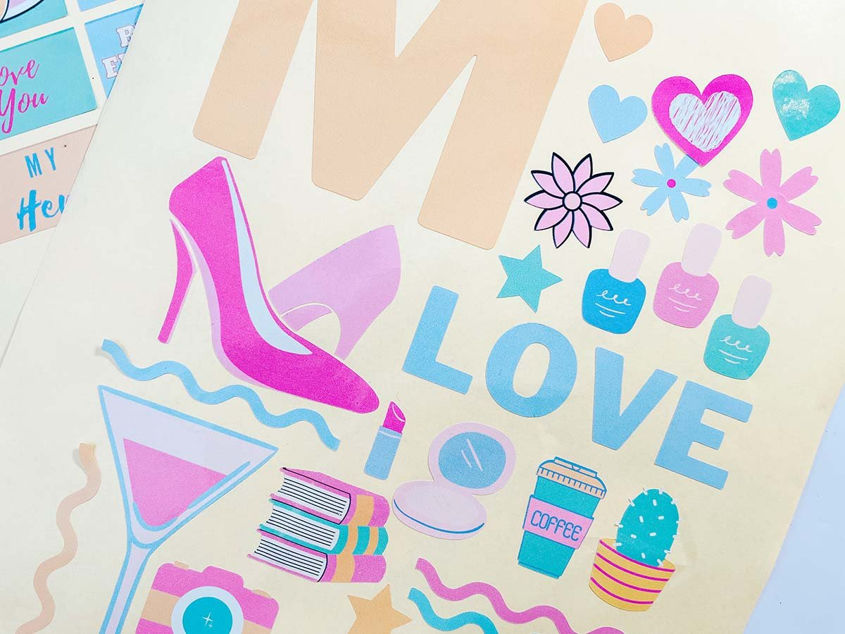 Mothering Sunday DIY Card Decals