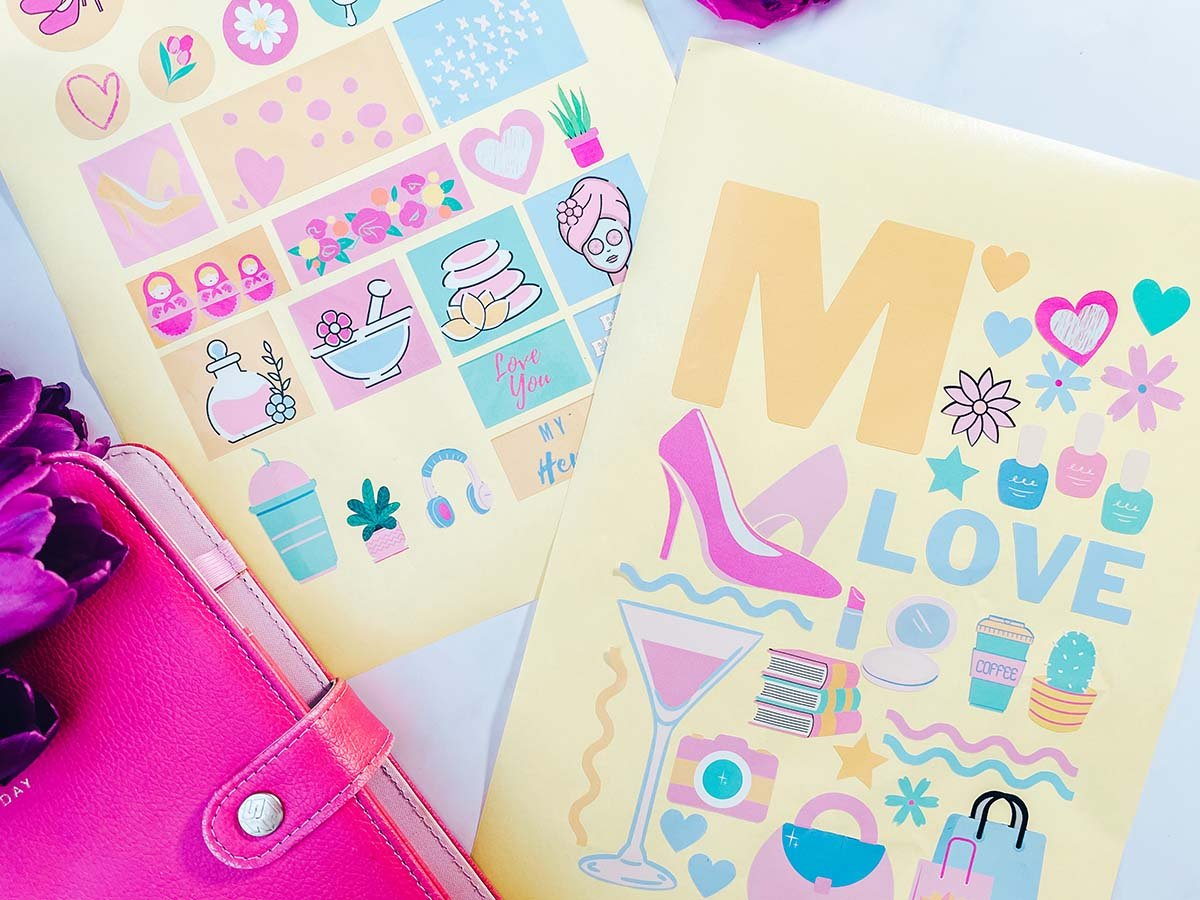 Mothers Day scrapbooking stickers