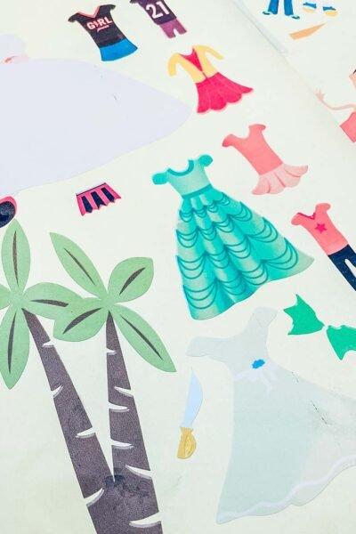 Printable Dress Up Dolls