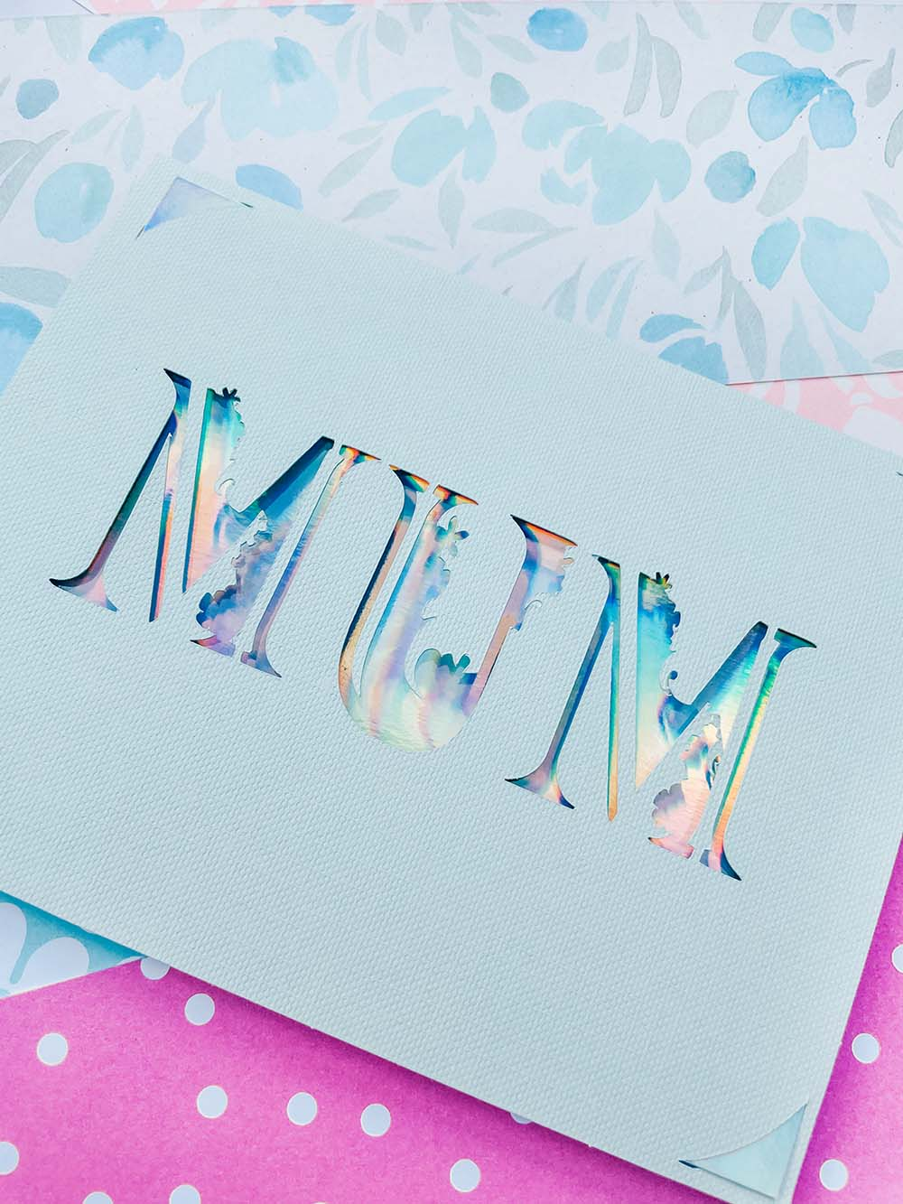 Cricut Joy Mothers Day Card Free SVG PNG Template