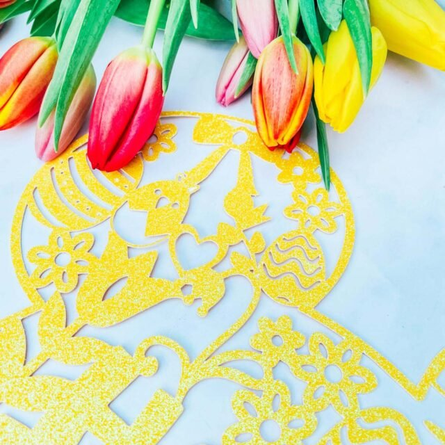 Free Cricut Easter Cut File For Easter Decorations