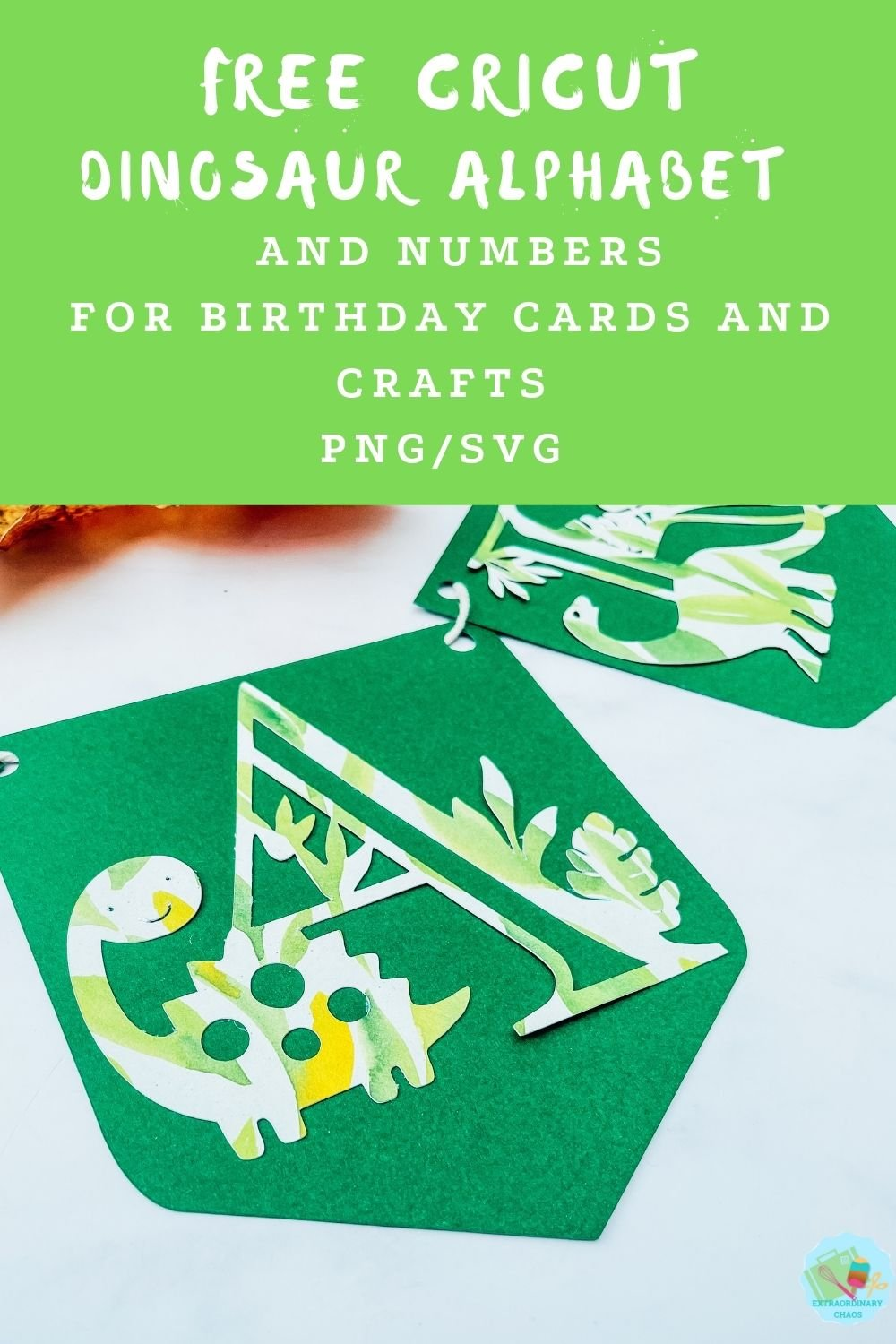 Free downloadable Dinosaur Alphabet and number template for parties, banners, card making, banners , decorations, and invitations
