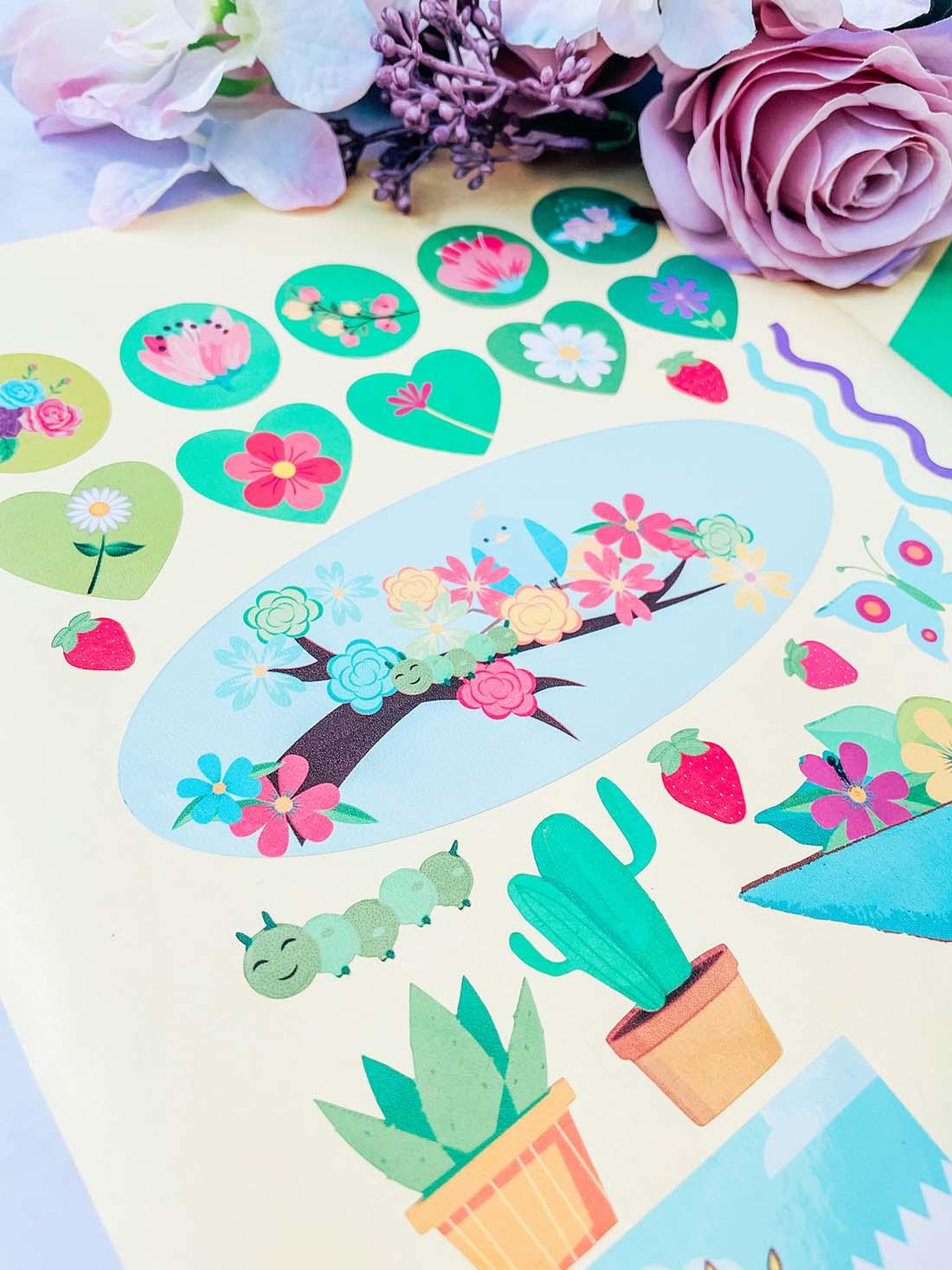 Gardeners planner stickers