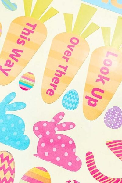 Easter Egg Hunt Stickers
