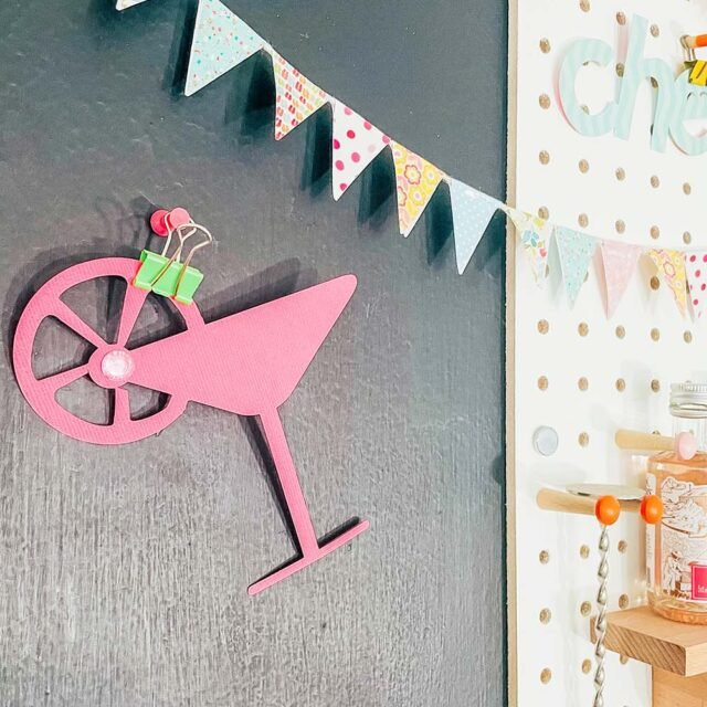 Cricut print and cut flags for scrapbooking and card making