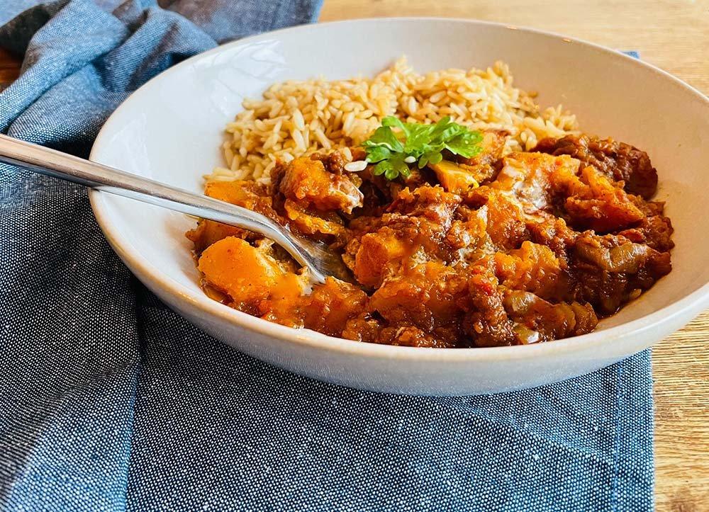 slow cooker vegetarian curry recipies