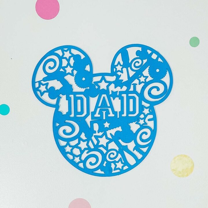 Download Free Mickey Fathers Day Svg For Crafting Cards Extraordinary Chaos