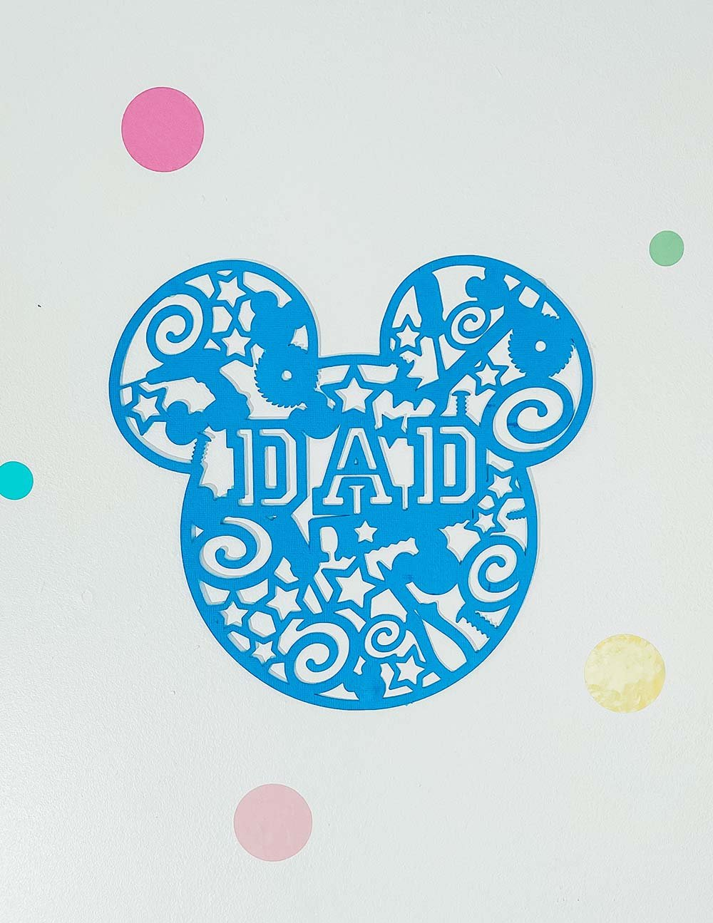 Disney Fathers Day SVG