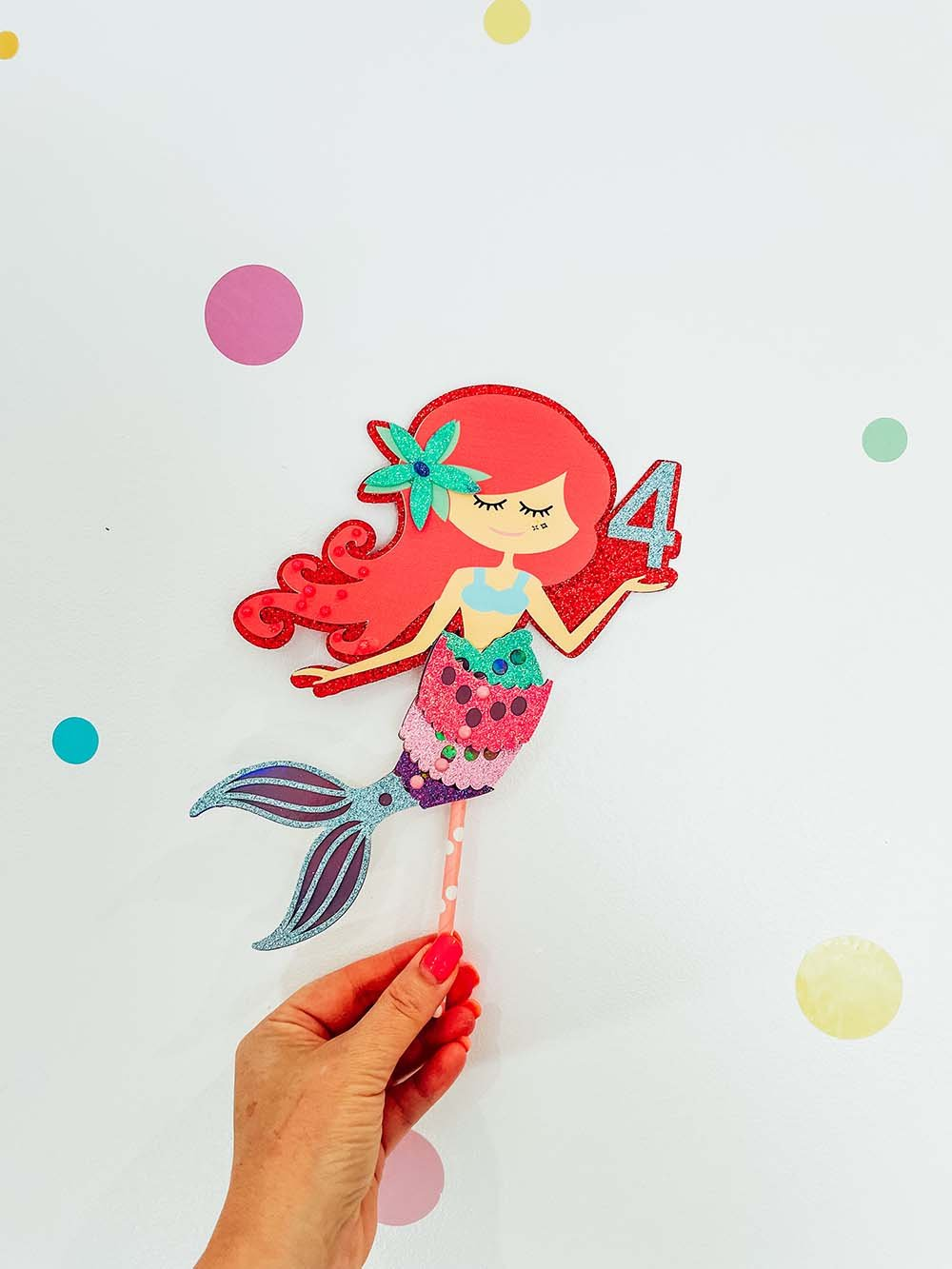 Cake Topper SVG for parties