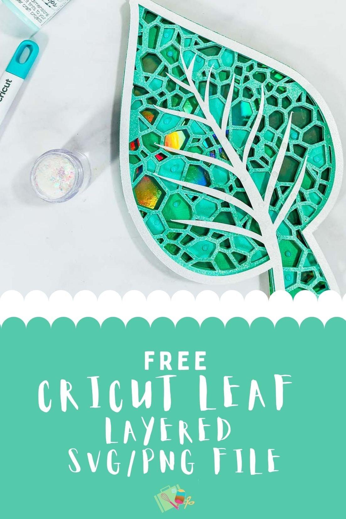 Free cricut leaf layered SVG File-2
