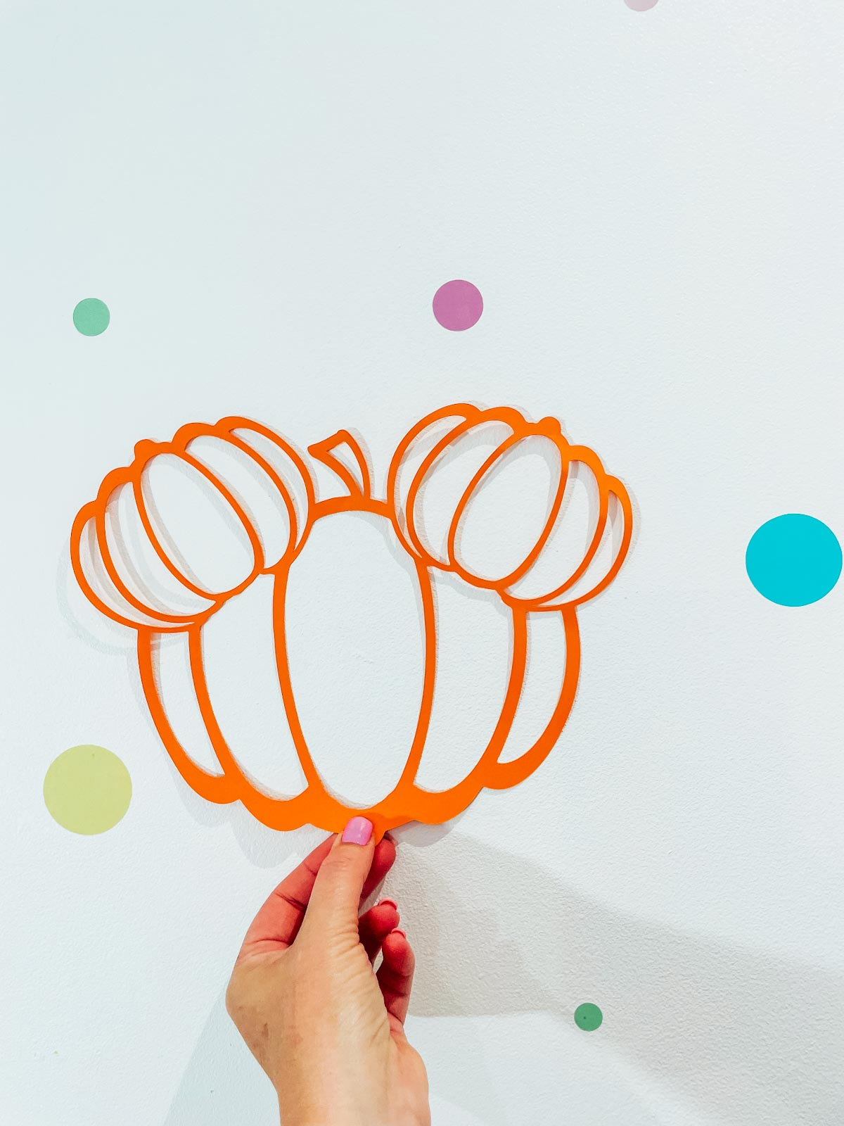 Pumpkin Mickey Free SVG Files For Fall Craft Projects