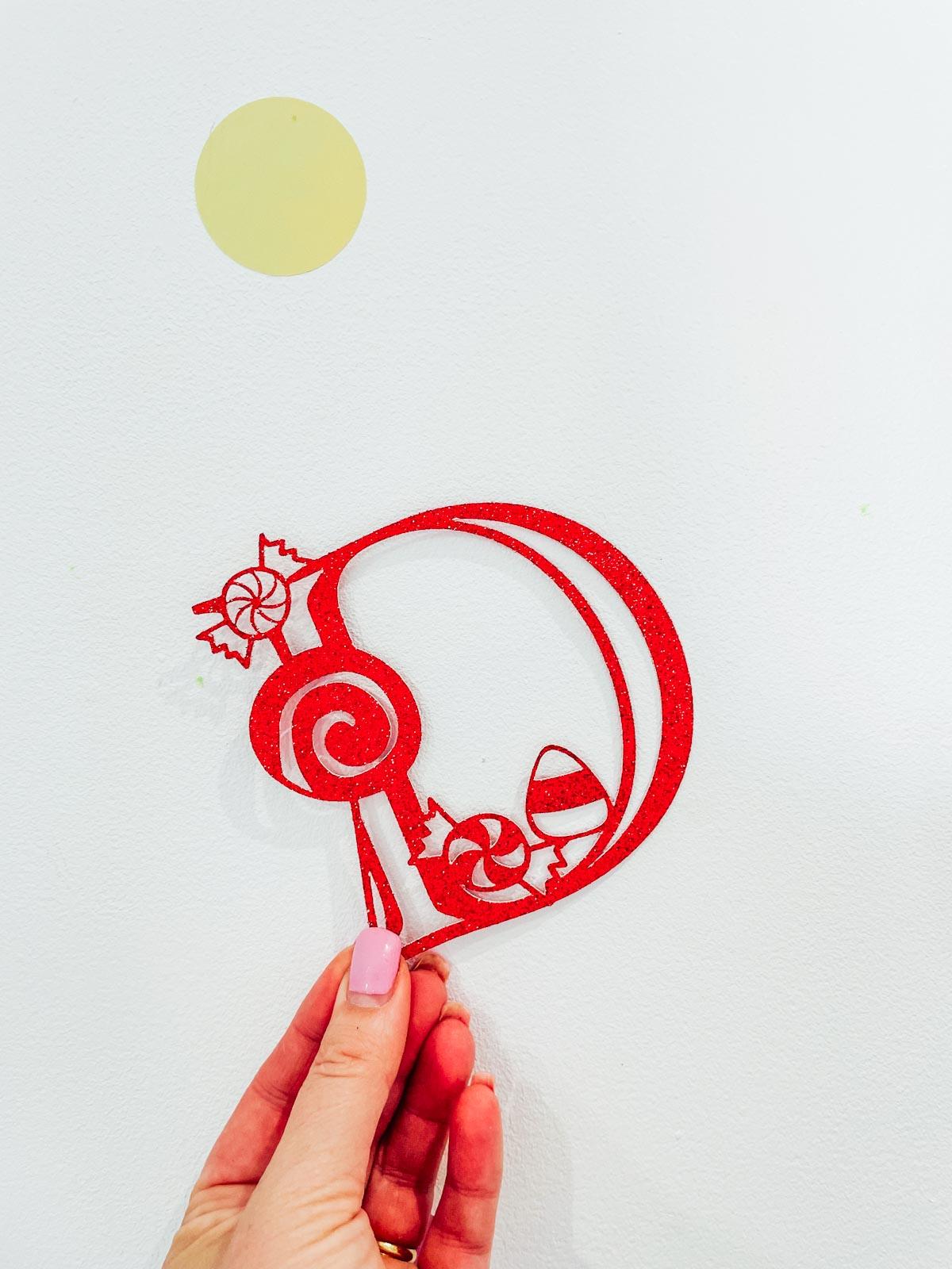 Candy Alphabet SVG Cricut Crafting