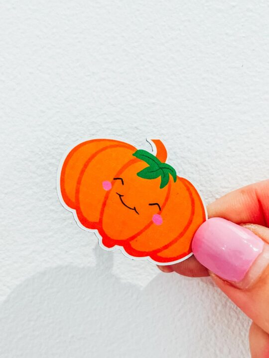 Cute pumpkin printable PNG
