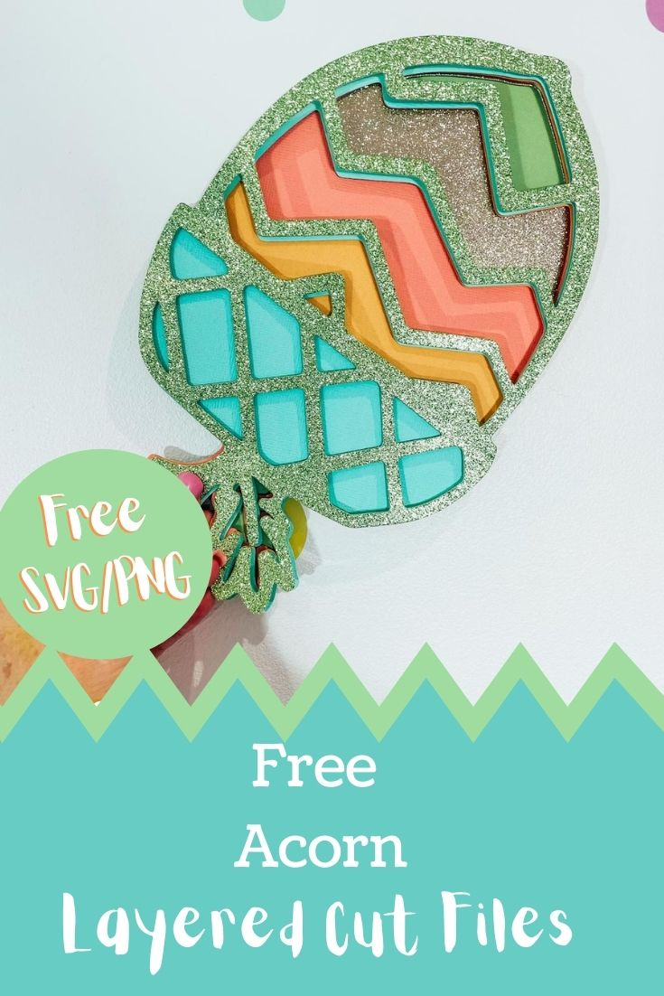 Free Acorn Layered Files for crafting