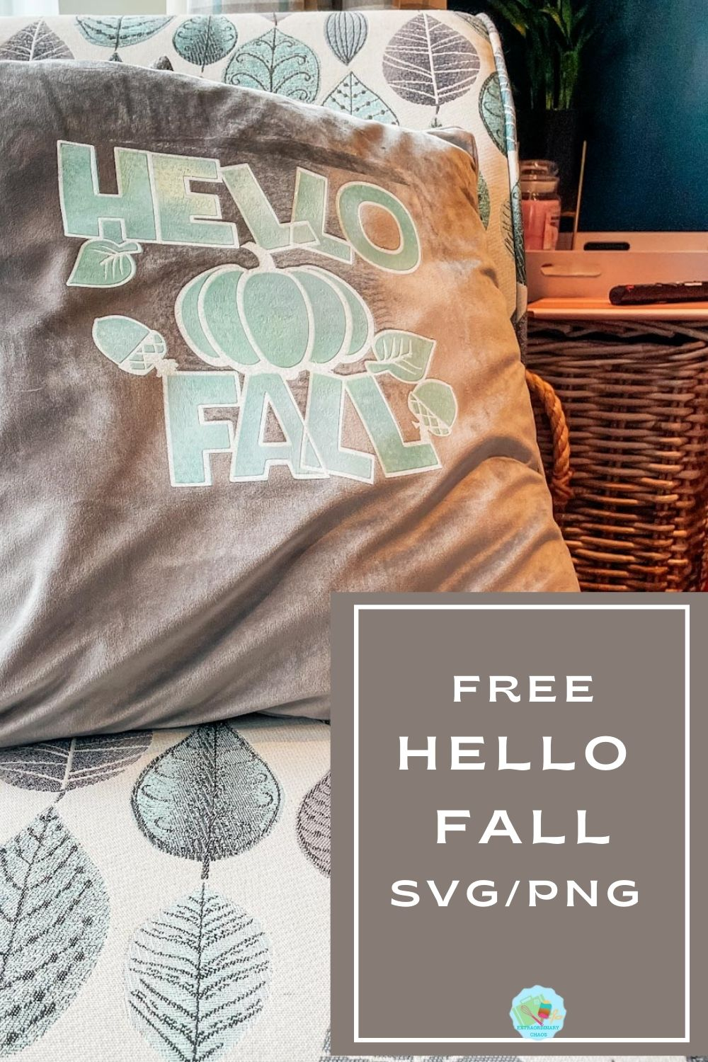 Free Hello Fall PNG SVG