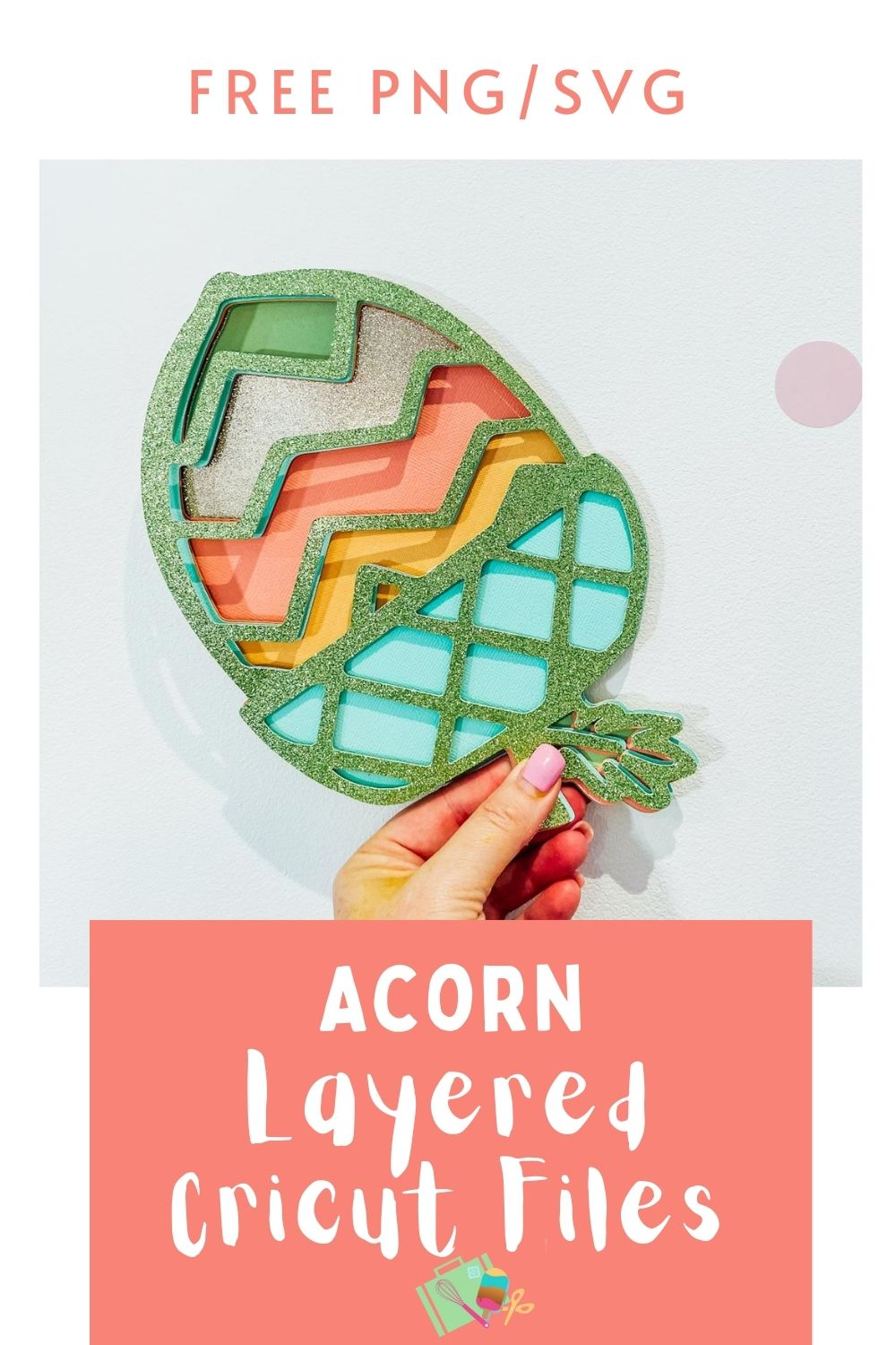 Free PNG SVG Acorn for Cricut Crafting-2